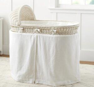 newborn girl bassinet