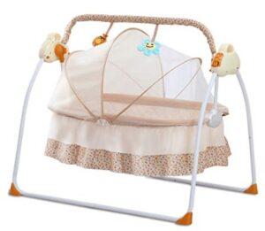 wooden bassinet rocker