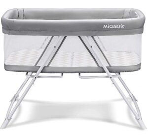 travel crib with bassinet