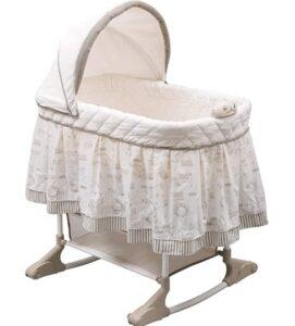 portable rocking bassinet
