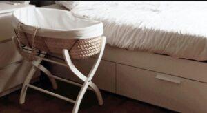 small portable bassinet