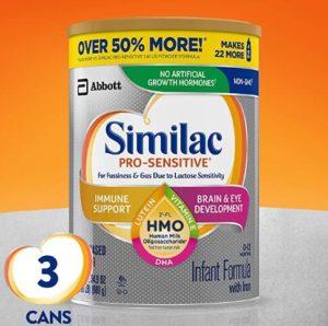 non dairy infant formula organic