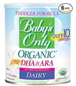 non gmo health baby formula