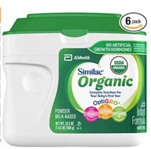 best organic non gmo baby formula