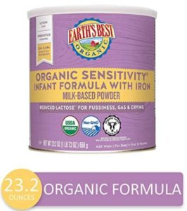best organic non gmo formula