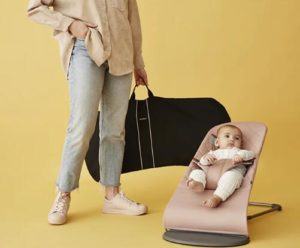 age of using baby swing