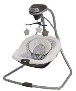 is it ok to use baby swing with vibration