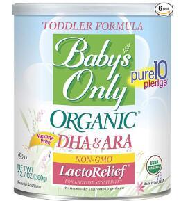 organic dairy free soy free baby formula