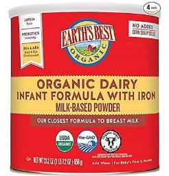 best organic dairy free formula