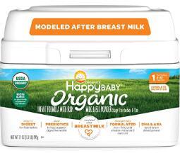 non dairy organic infant formula