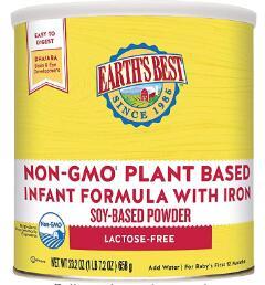 organic non dairy baby formula