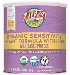 organic dairy formula
